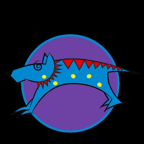Bluedog Café Invermere Logo